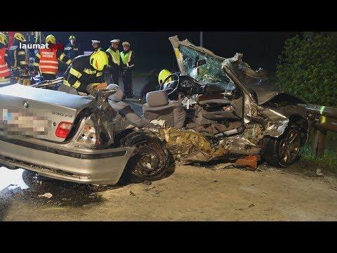 Drei Tote und vier Verletzte bei schwerem Crash in Hörsching