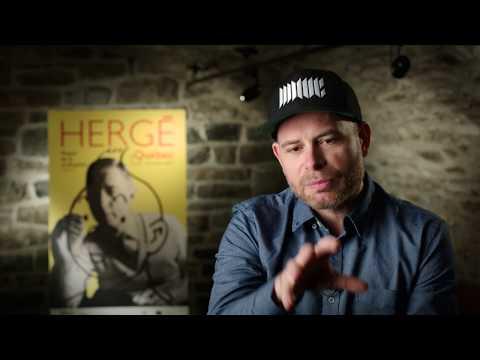 Hergé vu par Arnaud Cordier