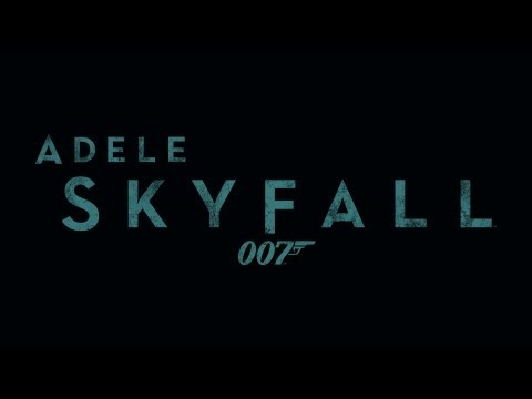 Adele - Skyfall (007 Theme Song) #musicmonday