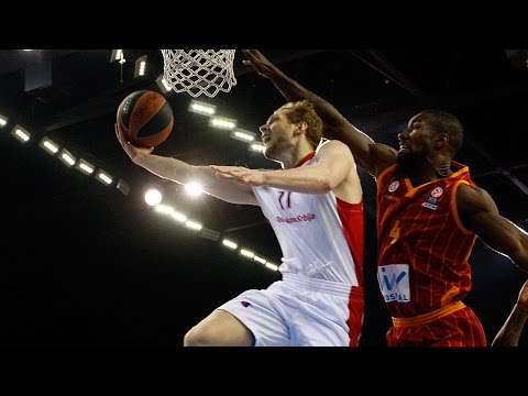Highlights: Galatasaray Liv Hospital Istanbul-Crvena Zvezda Telekom Belgrade