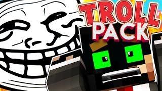 THE BEST TRAP PRANK IN MINECRAFT - MODDED MINECRAFT TROLL PACK #2