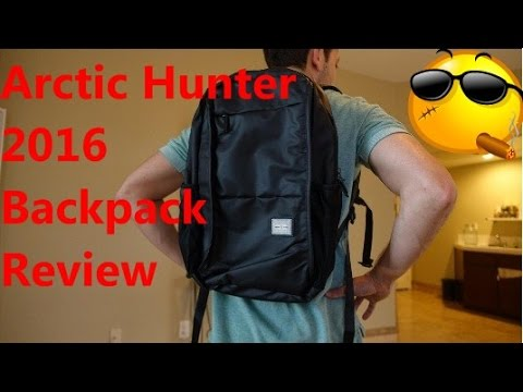 Arctic Hunter Backpack Review 2016 -Best Waterproof Backpack For Laptops