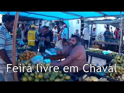 Feira Livre em Chaval