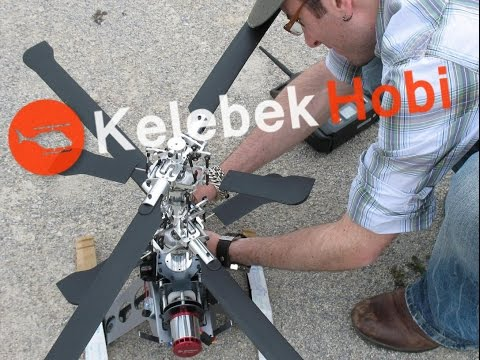 RC Helikopter | Metal | Coaxial Collective Pitch | Büyük Model