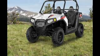 7. 2016 Polaris RZR 570 EPS White Lightning
