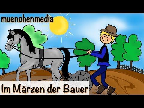 Kinderlieder deutsch / Volkslied - Im Märzen der Bauer | muenchenmedia