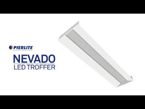 Pierlite Nevado LED Recessed Troffer