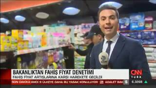 Fahiş Fiyat Artışına Karşı Zabıta Denetimleri - Cnn Türk