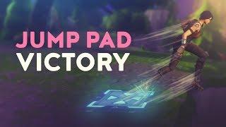 JUMP PAD VICTORY (Fortnite Battle Royale)