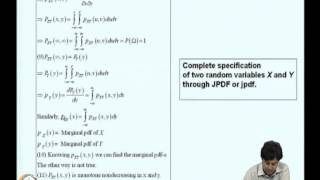 Mod-01 Lec-04 Multi-dimensional Random Variables-1