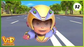 Video Vir: The Robot Boy | Jungle Safari | Action Show for Kids | 3D cartoons MP3, 3GP, MP4, WEBM, AVI, FLV Januari 2019