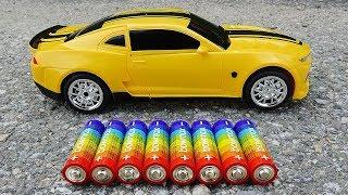 Yellow Bumblebee Transformer Toys - Car Toys Kid #2