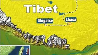 Xigaze China  city pictures gallery : China finishes railway connecting Lhasa to Shigatse