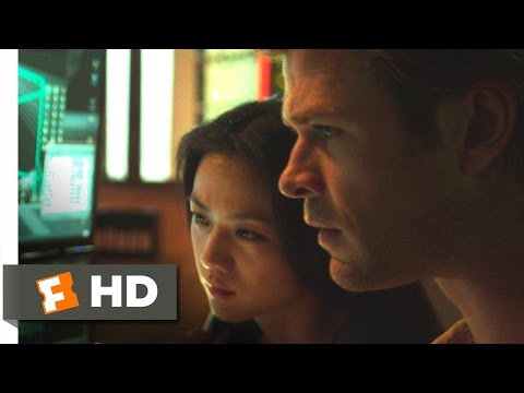 Blackhat (2014) - Hacking the NSA Scene (4/10)   Movieclips
