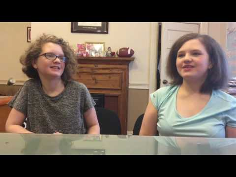 Grace and Sophia Panek - Coosa Valley News Person of the Week