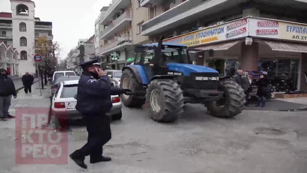 Αγροτικές κινητοποιήσεις στην Καρδίτσα