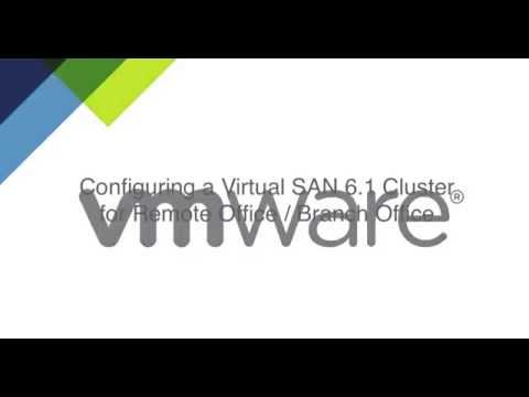 Video VMware vSAN ROBO Edition Configuration Demonstration download in MP3, 3GP, MP4, WEBM, AVI, FLV January 2017