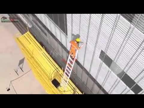 İş güvenliği için harika bir animasyon