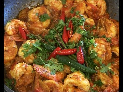 Easy Prawn Curry - Indian style