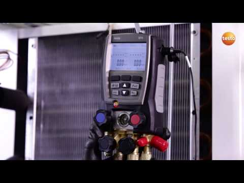 Temperature Compensated Tightness Testing with the Testo 570