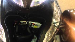 9. How to jump a can am spyder 2012. Battery location.