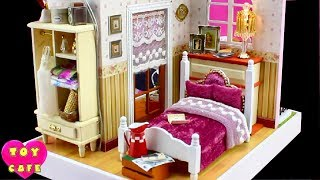 Happy Hour, DIY Miniature Dollhouse Kit With Working Lights