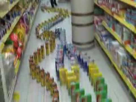 Supermarket domino