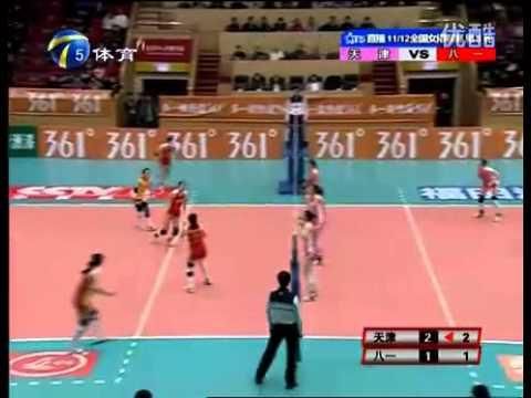 El mejor punto en partido de volleyball