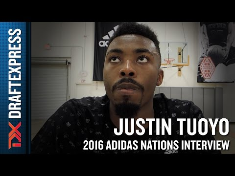 Justin Tuoyo Interview from 2016 Adidas Nations