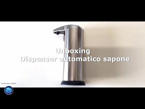 Dispenser Automatico Sapone - Unboxing