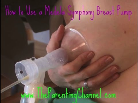 HOW TO USE MEDELA SYMPHONY BREAST PUMP