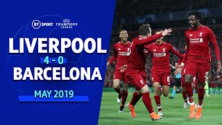 Video Liverpool vs Barcelona (4-0) | UEFA Champions League Highlights MP3, 3GP, MP4, WEBM, AVI, FLV Agustus 2019