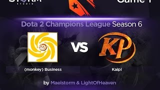 mBusiness vs Kaipi, game 1