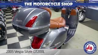 8. 2005 Vespa Silver GT200L