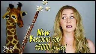 Mass Market NEW BASSOONS for $5000 or Less: COMPARISON