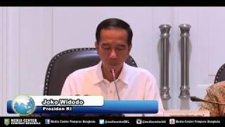 Rapat Program Prioritas di Prov Bengkulu Bersama Presiden RI