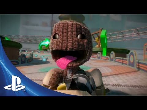 LittleBigPlanet Karting Gamescom Trailer