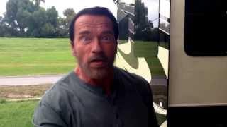 Arnold Schwarzenegger has a message