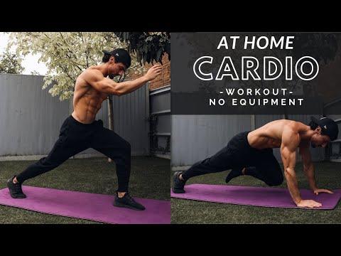 CARDIO WORKOUT AT HOME | Fat Burning | No Equipment | Rowan Row