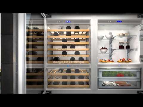KitchenAid Nuova gamma Vertigo: frigoriferi e cantine refrigeranti di ultima generazione