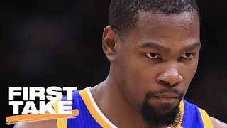 Is Kevin Durant To Blame For Parity Issues In The NBA? | First Take | May 29, 2017
