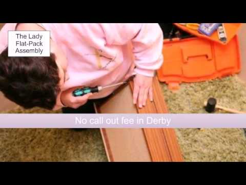 The Lady Flat-Pack Assembly, Home Improvements in Derbyshire