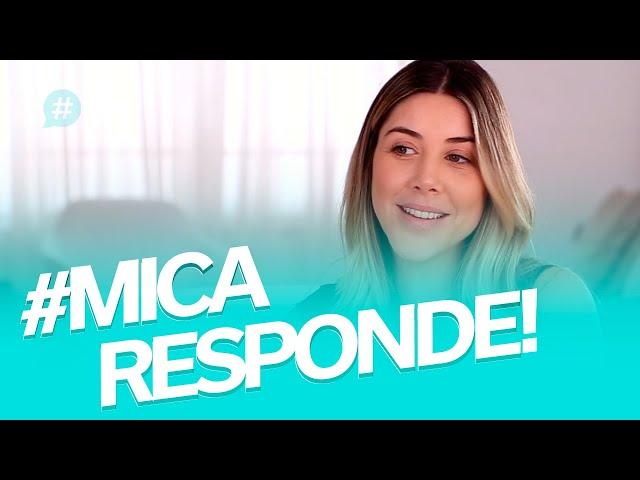 Virar atriz? Mudar de país? Quantas tatuagens? #MICARESPONDE - Mica Rocha