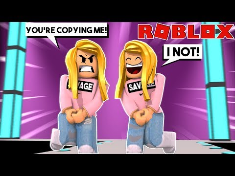 SHE COPIED ME IN FASHION FAMOUS! (Roblox)