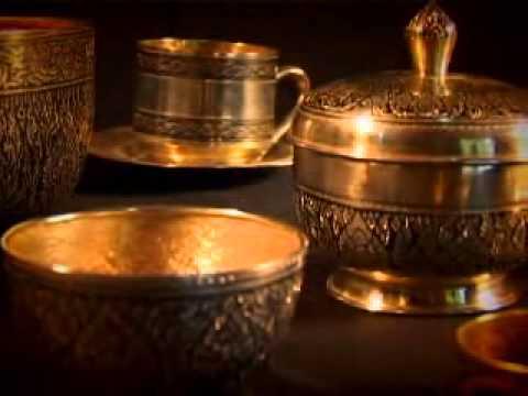 อาจารย์ สุนทร พรหมแก้ว เครื่องถมเงิน-ถมทอง จ.นครศรีธรรมราช