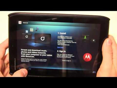 Motorola DROID XYBOARD 8.2 Review Part 2