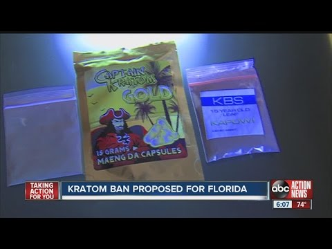 Kratom ban proposed for Florida