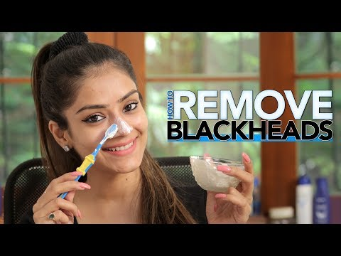 DIY | How To Remove Blackheads | Get Rid Of Black Heads | Home Remedies | Foxy Makeup Tutorial