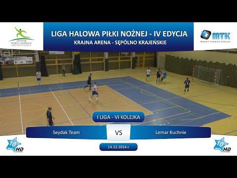 I Liga - VI Kolejka: Seydak Team - Lemar Kuchnie 2:2, 14.12.2014 r.
