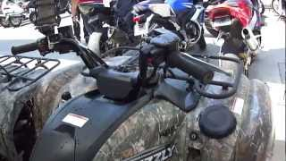 4. 2008 Yamaha Grizzly 700 FI Auto. 4x4 EPS Ducks Unlimited Edition